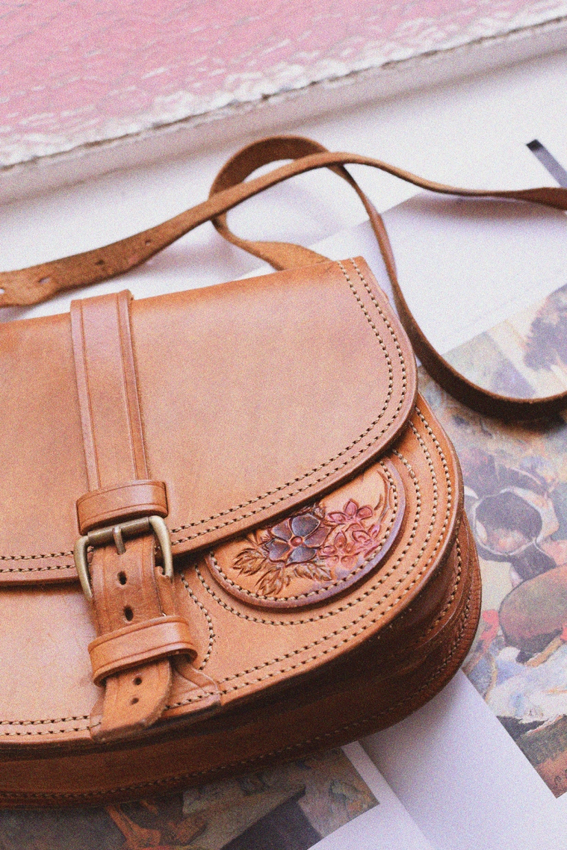 The Vintage Saddle Bag